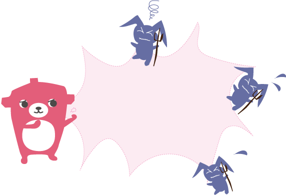 ウイルスパンチ枠 *カラー