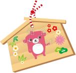【正月】絵馬*カラー