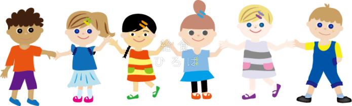 世界の子供たち*カラー