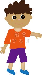 世界の子供たち①*カラー