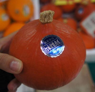 【加賀野菜】打木赤皮甘栗かぼちゃ